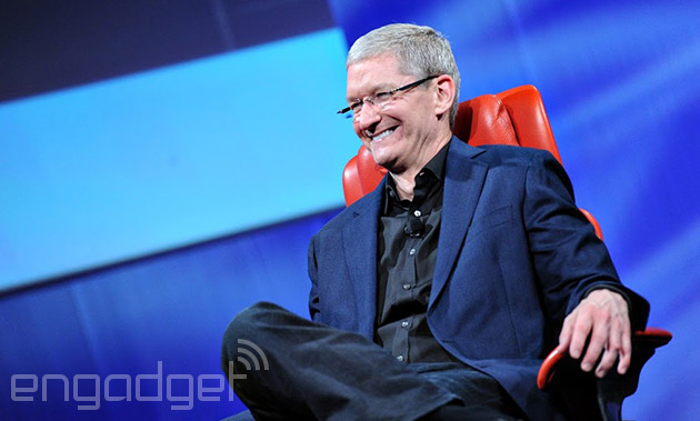Tim Cook says Apple could have built a subscription music service, but didn't need to