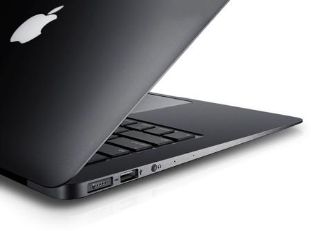 space grey macbook air