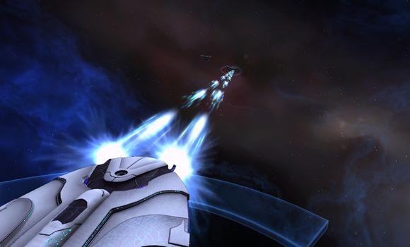 STO Starfleet anniversary ship firing