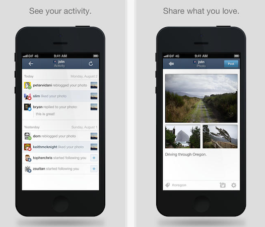 Tumblr gets refreshed for iOS 7, lets you reblog that cat ...