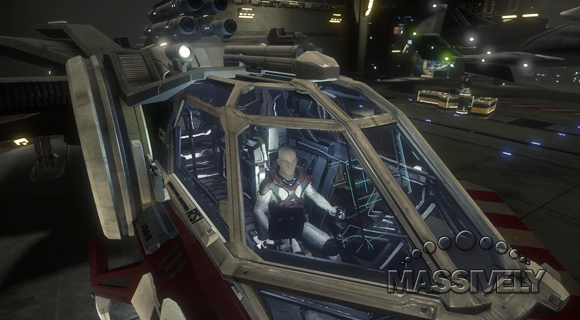Star Citizen Aurora cockpit high