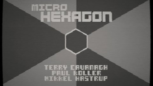 Super Hexagon shrinks to 16kb in Commodore 64 demake