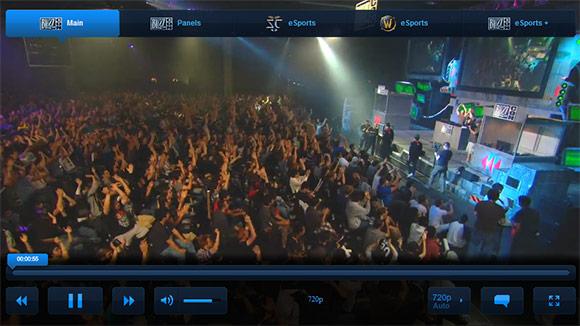 BlizzCon live stream