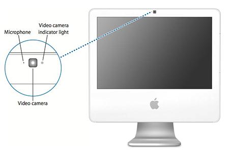 iMac G5 iSight camera