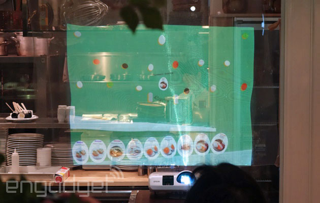 The concept restaurant of the future: iBeacons, motion detection and smartglass service (video)