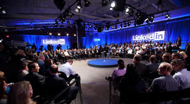 LinkedIn media event
