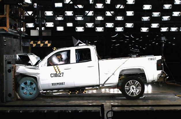 Chevrolet Silverado Gmc Sierra Crash Test
