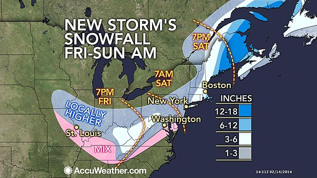 New East Coast Storm