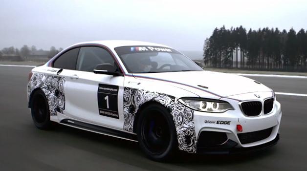 【ビデオ】BMW「M235iレーシング」のプロモーション映像が公開!