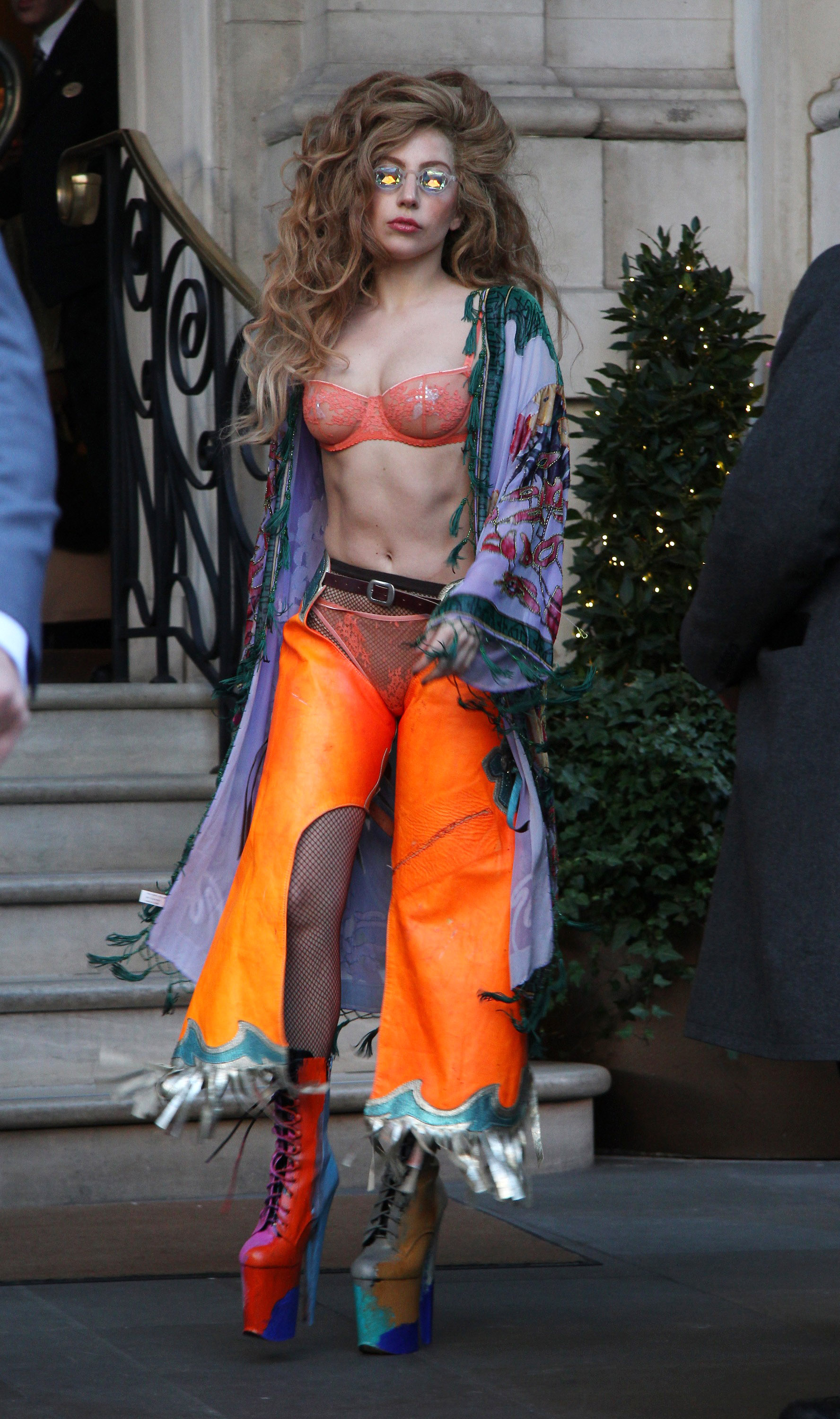 Lady Gaga Sightings In London - December 8, 2013