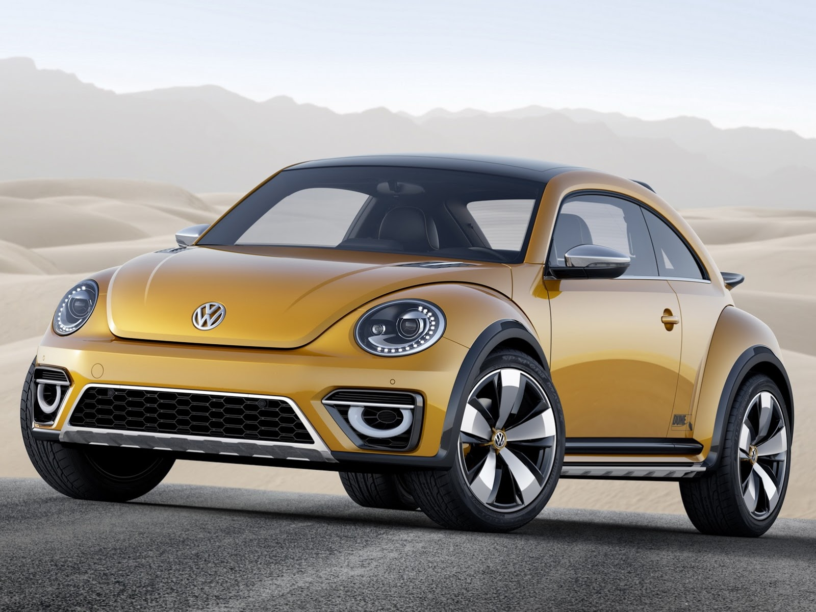Baja Bug, Buggy, comeback, debüt, Detroit, featured, premiere, Volkswagen, VW Buggy, VW Käfer, VW New Beetle Dune Concept