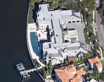 derek jeter house aerial view