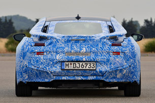 2014 BMW i8 Prototype rear view