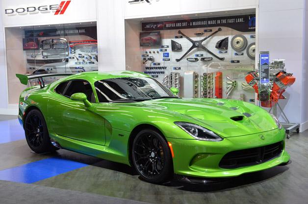 Srt Viper Looks Venomous In Stryker Green