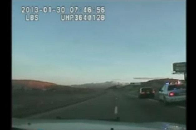 【ビデオ】元NASCARドライバーがパトカーとカーチェイス! 逮捕の瞬間を捉えた映像