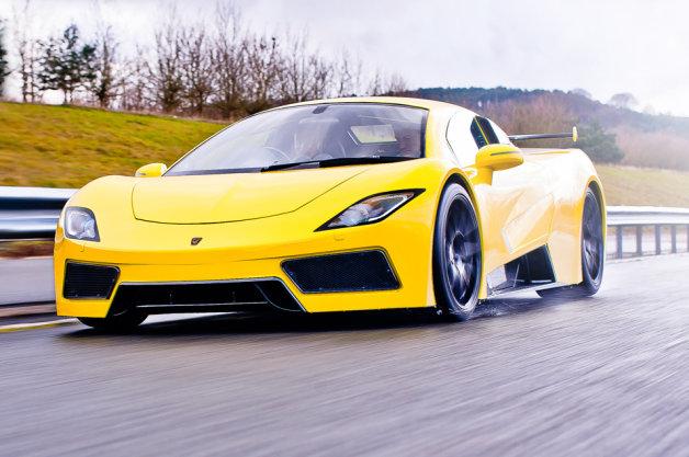 550hpのGM製V8を搭載! 英のスーパーカー、Arash「AF8」の詳細が発表
