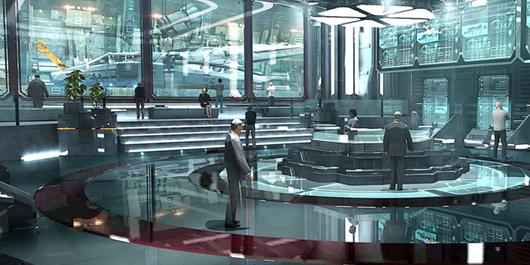 Star Citizen Void Alpha Terra concept art