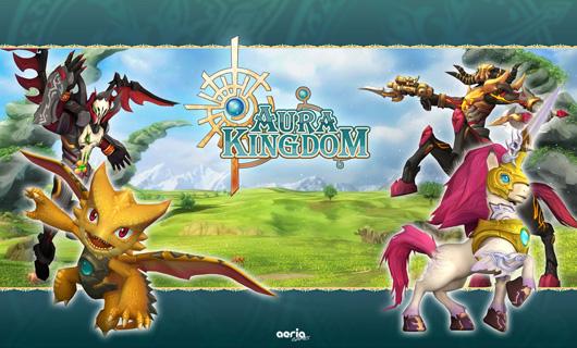 Aura Kingdom launches open beta