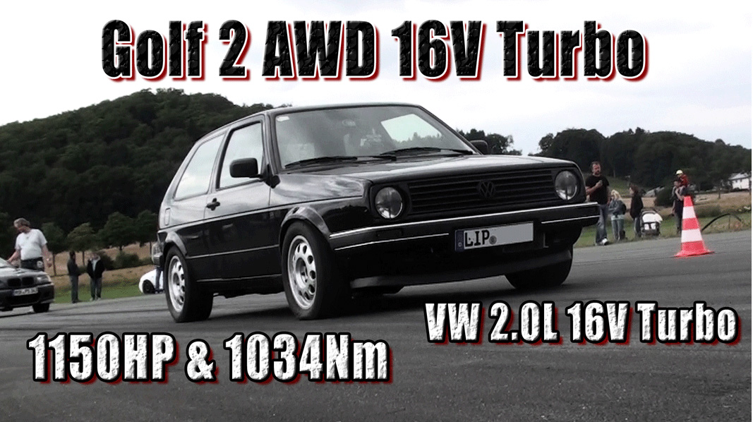 VW Golf, Golf 2, MK 2, VW Golf II, Boba, Boba Motoring, viertelmeile, Golf Sport, VW Golf 2, Tubro, Tuner, Tuning, Motortuning, Video