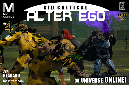 Alter Ego 4 - Kid Critical in the Scarecrow's Lair