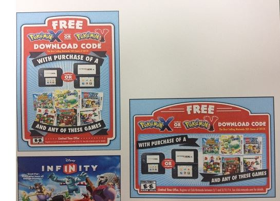 Rumor: Free Pokemon X/Y With Purchase of 3DS XL or 2DS And A Game