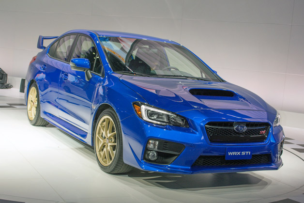 2015 Subaru Wrx Sti Goes For The Gold W Video