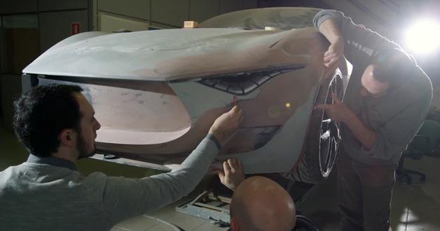 【ビデオ】マセラティのコンセプトカー「アルフィエーリ」ができるまで