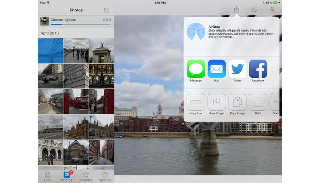 Dropbox 3.0 for iPad