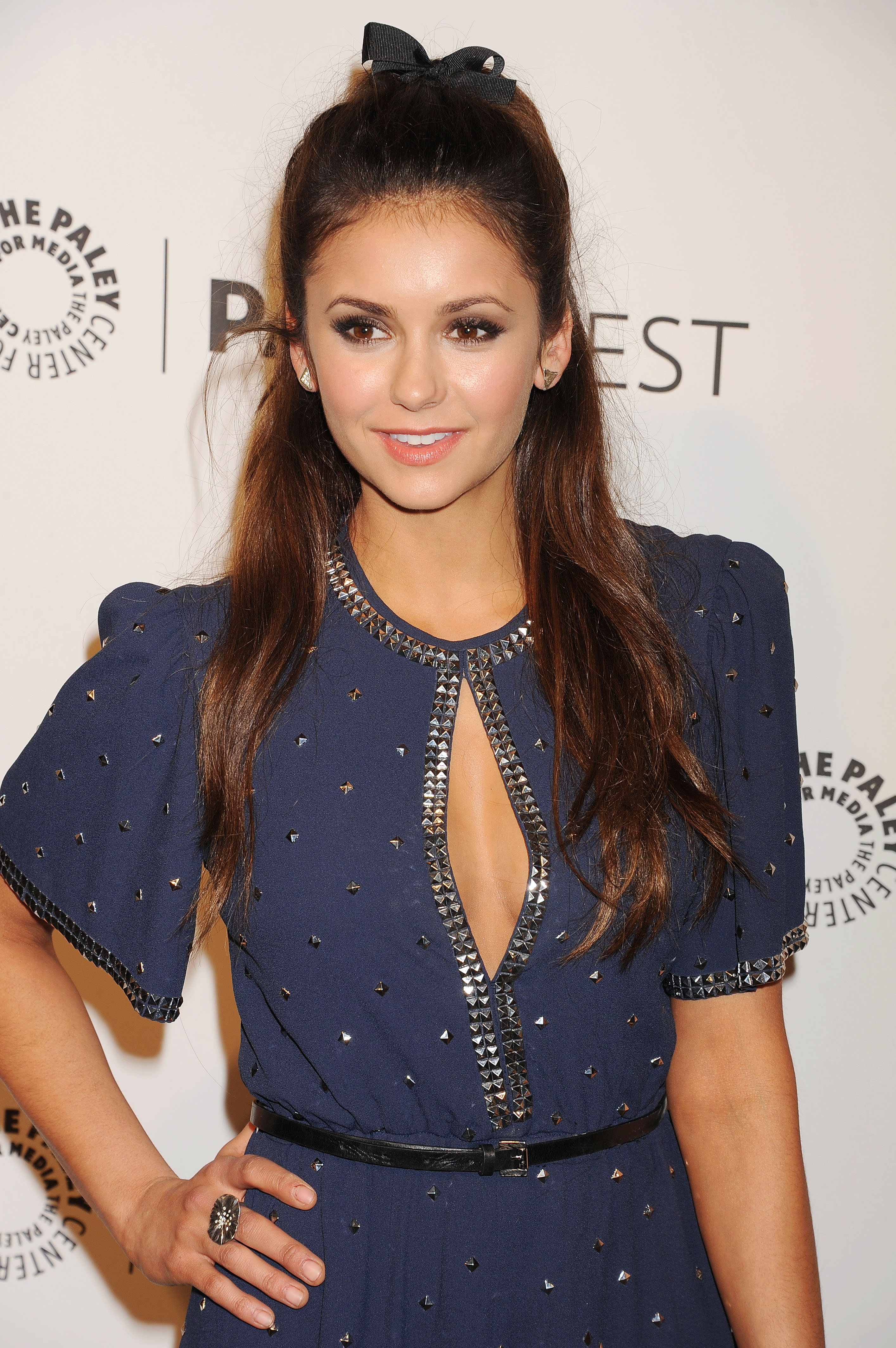 Look of the week: Nina Dobrev rocks a hairstyle your inner-4th grader will love