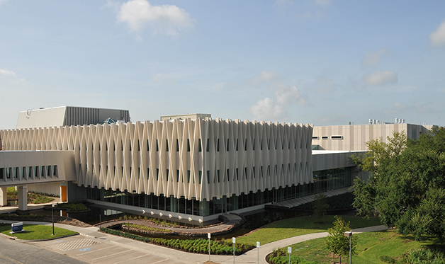 A building at the Shell Technology Center - Houston