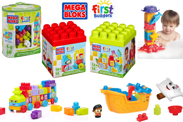 WIN Mega Blocks toys worth £75