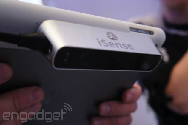 Here's that $500 3D scanner for the iPad