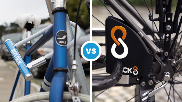 BitLock and LOCK8 smart bike locks