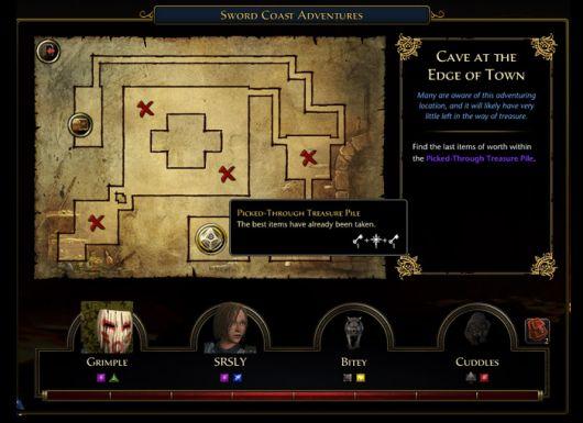 Screenshot -- Neverwinter's Sword Coast Adventures