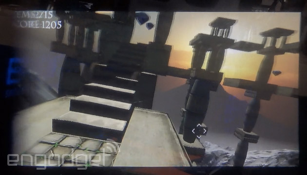 Temple Run in first-person, courtesy of Epson's Android glasses (hands-on)