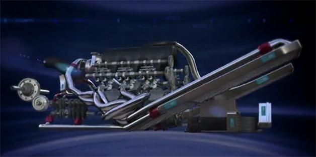 【ビデオ】フェラーリの2014年用F1エンジン「059/3」!