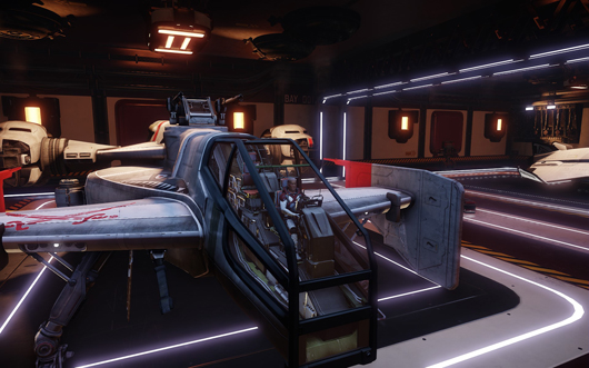 Star Citizen Cutlass cockpit