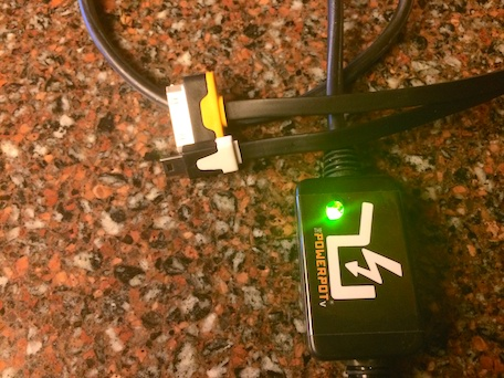 powerpot, thermoelectric charger, accessories, ipad, iphone,