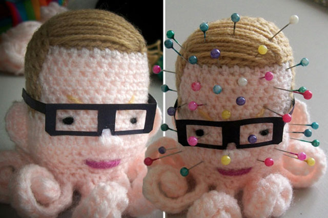 Michael Gove pincushion on sale