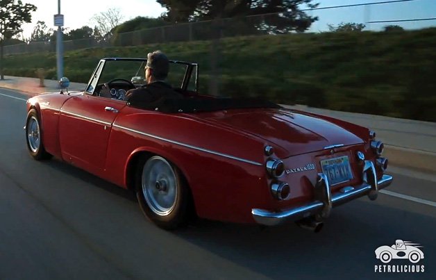 37K miles in a 1967 Datsun Roadster