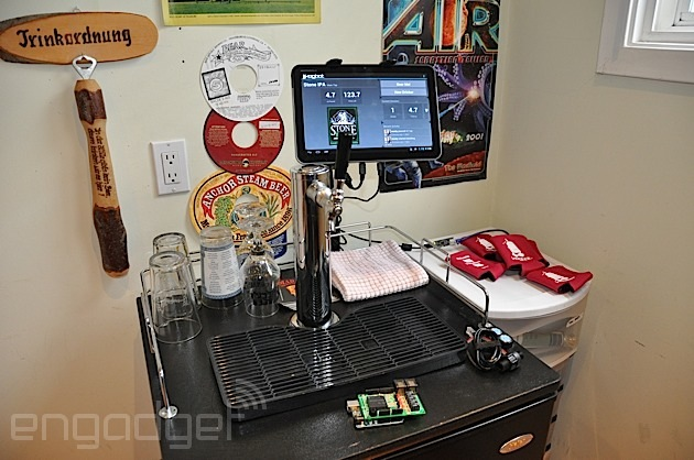 Kegbot makes creating an Android-controlled kegerator easy