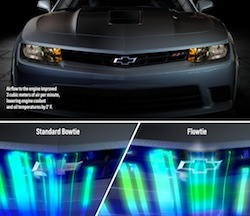 The 2014 Camaro Z/28 features what engineers are referring to as the