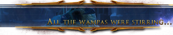All the wampas were stirring...