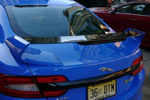2013 Jaguar XFR-S rear wing