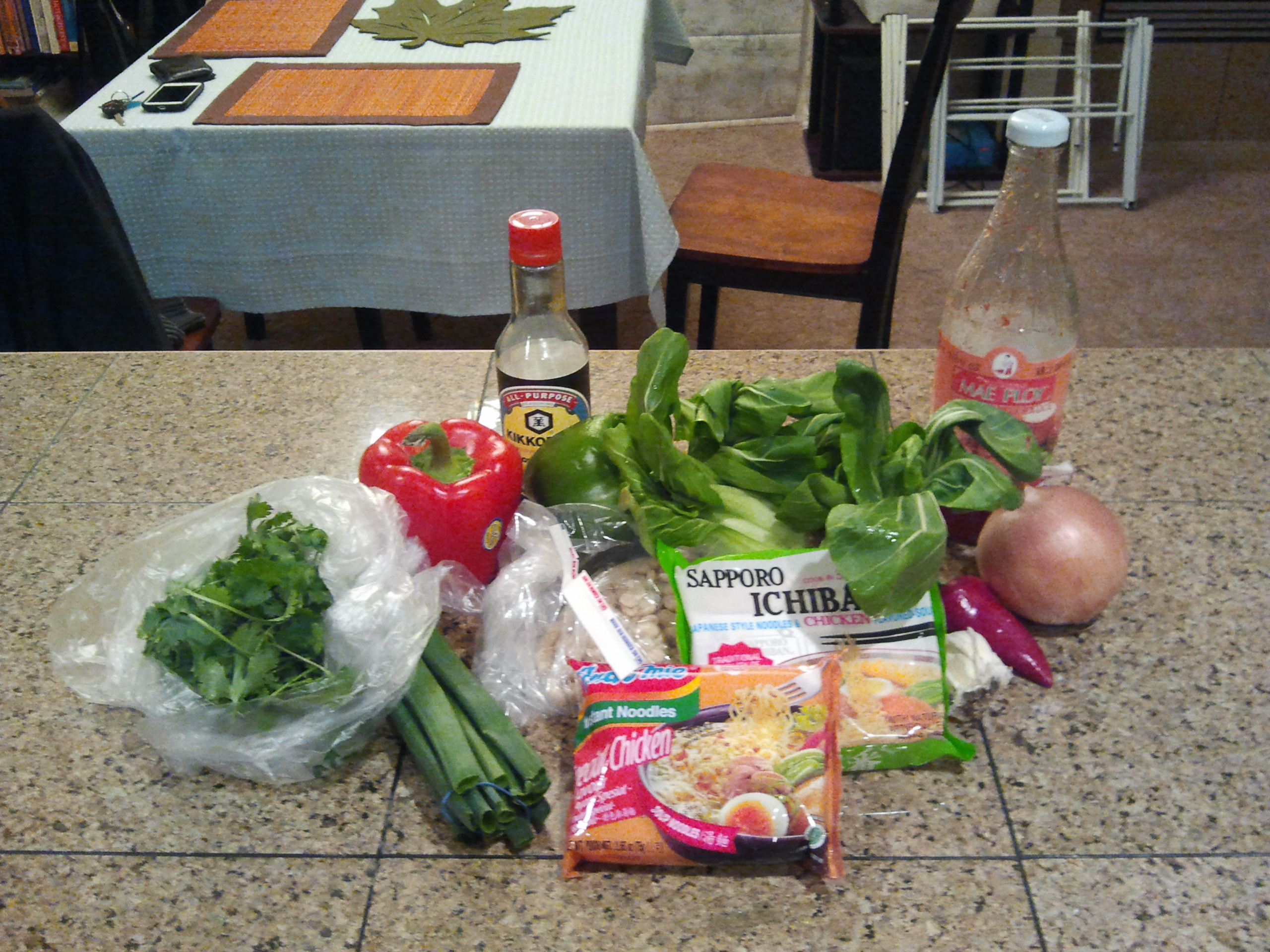 Instant noodle ingredients