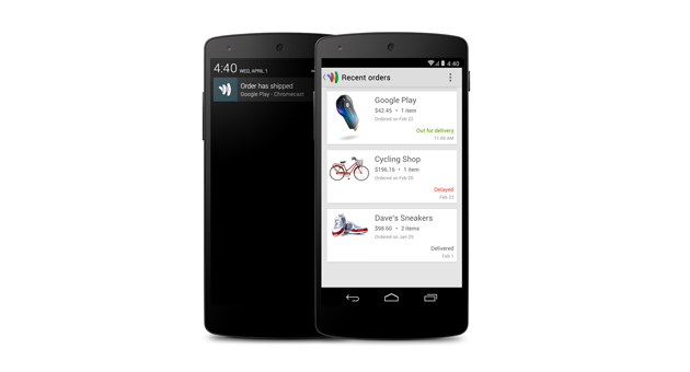 Google Wallet's new 'Orders' feature lets you track online shipments