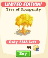 Happy Island: Make your tourists spend more with the Tree of Prosperity!