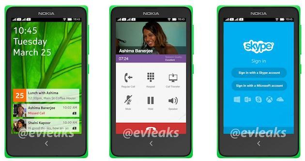Nokia Normandy screenshots