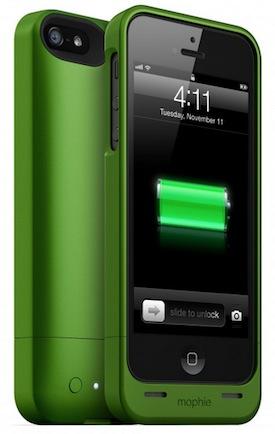 Mophie Juice Pack Helium in Green
