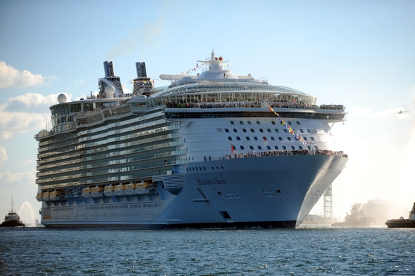 Biggest Cruise Ship Of All Time Tumblr  Punchaoscom